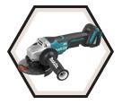"Angle Grinder (Tool Only) - 5"" dia. - 18V Li-Ion / DGA508Z *LXT"