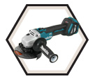 "Angle Grinder (Tool Only) - 5"" dia. - 18V Li-Ion / DGA511Z *LXT"
