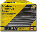 Garbage Bags - Poly - Black / 334072 *BULLY (BOX)