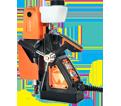 "Magnetic Drill (w/ Acc) - 1-3/8 x 1-1/2"" - 8.0 A / 39-D 100 *ICECUT 100"