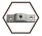 Ceiling Flange - Aluminum / CF Series