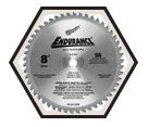 """Circular Saw Blade - 8"""" - 50T / 48-40-4520 *ENDURANCE™"""