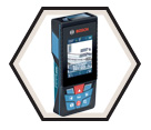 Laser Measure w/ Camera - 400' - 3.6V Li-Ion / GLM400CL *BLAZE™