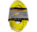 Extension Cord - 12/3 AWG - Yellow / 123 Series *OUTDOOR