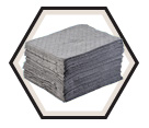"Spill Pads - 15"" x 18"" - Universal / GP-H *CONTRACTOR GRADE"