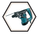 """Rotary Hammer (w/o Acc) - 1-1/8"""" SDS-Plus - 7.0 amps / HR2811F"""