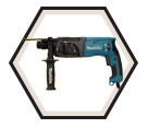 """Rotary Hammer (w/o Acc) - 15/16"""" SDS-Plus - 6.7 amps / HR2470F"""