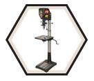 "Drill Press - 18"" - 15 amp / 58000 *NOVA VOYAGER DVR"