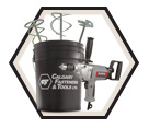 """Mixing Drill (w/ Acc) - 1/2"""" - 9.0 amp / KC-8316"""
