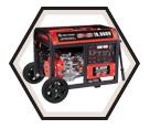 Generator (w/o Acc) - 10,000 W - Gas / KCG-10000GE *POWERFORCE