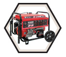 Generator (w/o Acc) - 8,500 W - Gas / KCG-8500GE *POWERFORCE