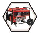 Generator (w/o Acc) - 6,500 W - Gas / KCG-6501G *POWERFORCE