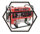 Generator (w/ Acc) - 1,500 W - Gas / KCG-1501GN *POWERFORCE