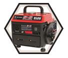 Generator (w/ Acc) - 950 W - Gas / KCG-951G *POWERFORCE