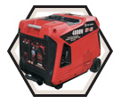 Inverter Generator (w/ Acc) - 4,000 W - Gas / KCG-4000I *POWERFORCE