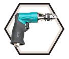 """Pistol Grip Drill - 1/4"""" - 0.4 HP / 52833"""