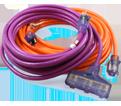 Extension Cord - 12/3 AWG / CF123 Series *HI-VIZ