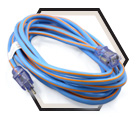Cold Weather Extension Cord - 12/3 awg