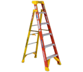 Leaning Step Ladder - Type 1A - Fiberglass / L6200 Series *LEANSAFE