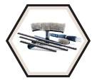 Window Cleaning Kit - Microfiber - Stainless Steel / 46001 *SOLSTICE