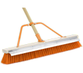 "Push Broom w/ Scraper - 24"" - Coarse / 99824 *FIREFLY"