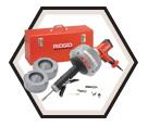 """Drain Cleaning Machine (w/ Acc) - 5/16"""" & 3/8"""" - 3.2 amp / 36008 *K-45AF-7"""
