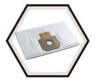 Vacuum Dust Bag - 9 Gallon - Fleece / AVB090F (5 Pack)