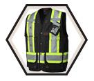 Surveyor's / Supervisor's Vest - Unlined - Cotton Duck / 694 Series