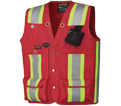 Surveyor's / Supervisor's Vest - Unlined - Oxford Polyester / 695 Series