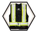 Fire Resistant Safety Vest - Unlined - Polyester / VIK3995FR Series