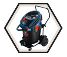 Dust Collector / Vacuum (w/ Acc) - 17 gal. - 17.5 amps / GAS20-17AH