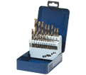 Jobber Drill Bit Set - 135° - Fractional / 01-E 621 *SST+ (21 pc)