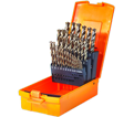 Reduced Shank Drill Bit Set - 135° - Fractional / 01-E 818 *SST+ (29 pc)