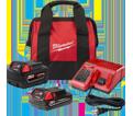 Battery Starter Kit - 5.0 & 2.0 Ah - 18V Li-Ion / 48-59-1850SPC *REDLITHIUM™