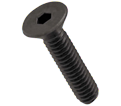 Flat Socket Cap Screws - 3/8-24 - Alloy / PLAIN