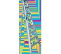 Landscaping Step Ladder - 250 lbs - Aluminum / 390-12 *HEAVY-DUTY