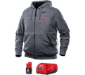 Heated Hoodie - Unisex - 12V Li-Ion / 302G-21 Series