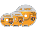 Grinding Wheel - Aluminum Oxide - Type 27 @ 20° / 08-W Series *ALLSTEEL™