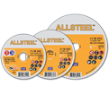 Cut-Off Wheels - Aluminum Oxide - Type 27 @ 90° / 11-W Series *ALLSTEEL™