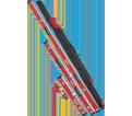 Box Beam Level Set - Magnetic - Metal / MLBXCM78 *REDSTICK™
