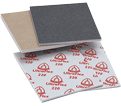"Sanding Sponges - 4-1/2"" x 5-1/2"" - Aluminum Oxide / HI-FLEX"