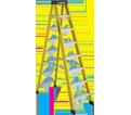 Step Ladder - Type 1A - Fiberglass / 6900 Series