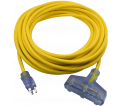 Extension Cords - 12/3 - 25' - Triple / 12325GT