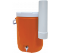 Water Cooler - 5 Gal. - Orange / ON607 *w/ Cup Holder