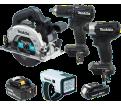 4 Tool Combo Kit - 18V Li-Ion / DLX4117X1 *LXT™