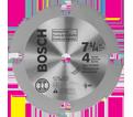 "Fiber Cement Circular Saw Blade - 7-1/4"" - 4T (PCD)"