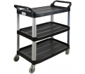 Utility Cart - 250 Lbs. - 3 Tiers / JH486