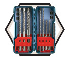Rotary Hammer Drill Bit Set - SDS-Plus - 7 pc / HCK001 *BULLDOG