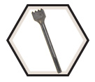 Hammer Steel - Bushing Tool - SDS-Max / HS1909