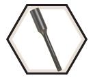 Hammer Steel - Ground Rod Driver - SDS-Max / HS1924